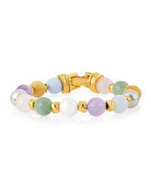 Pastel Bead Bracelet
