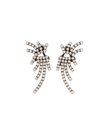 Willis Crystal Jacket Earrings