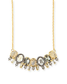 Elements Spiked Crystal Pendant Necklace