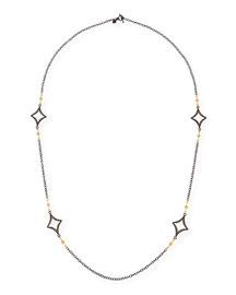 Long Open Cravelli Station Necklace, 36