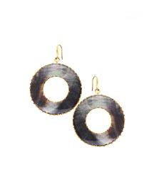 Elite Mystiq Open Ring Earrings