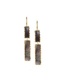 Elite Mystiq Double-Bar Earrings