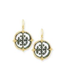 Sue�o Artifact Medallion Earrings