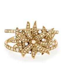 Swarovski?? Pearl Flower Bracelet