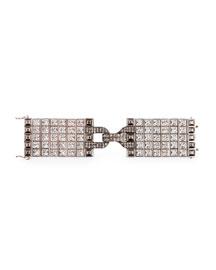 Large Square Crystal Bracelet