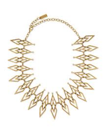 Dakota Brass Statement Necklace