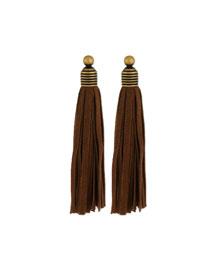 Topanga Suede Fringe Earrings
