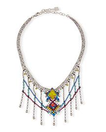 Cubana Multicolor Crystal Necklace