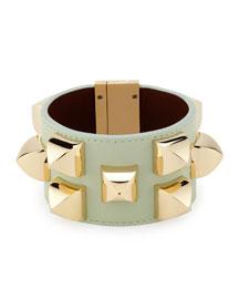 Studded Leather Cuff Bracelet