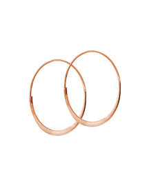 Small 14K Wave Magic Hoop Earrings