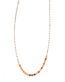 Short 14K Nude Layering Necklace