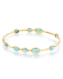 18k Rock Candy� 9-Station Bangle in Waterfall