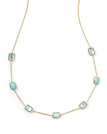 18K Rock Candy� Mini Gelato Station Necklace, Waterfall