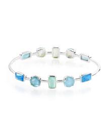 Rock Candy Wonderland 10-Stone Bracelet in Blue Star