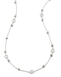 925 Rock Candy� Medium-Station Necklace in Quartz, 42