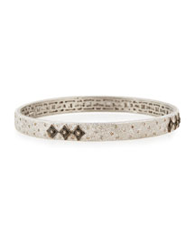 New World Midnight Crivelli Diamond Bangle