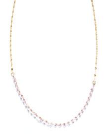 Blush Three-Tone Chain Necklace