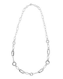 925 Glamazon Link Necklace, 40