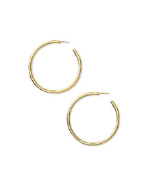 18K Glamazon Large Hoop Earrings