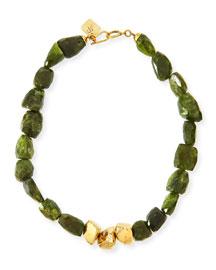 Tumba Rocky Peridot Necklace