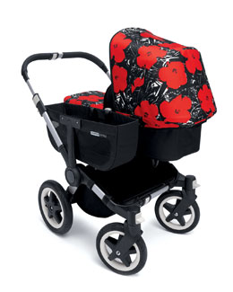 Bugaboo Donkey Andy Warhol Flowers Tailored Fabric Set