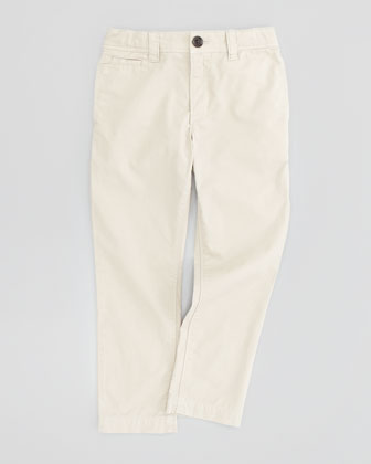 Boys' Casual Pants, Trench, 4-10Y