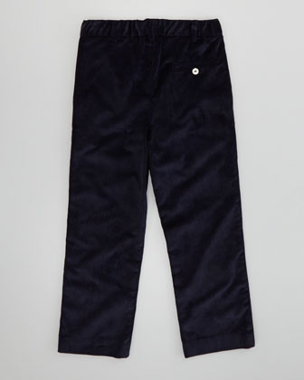 Boys' Classic Corduroy Pants, Navy