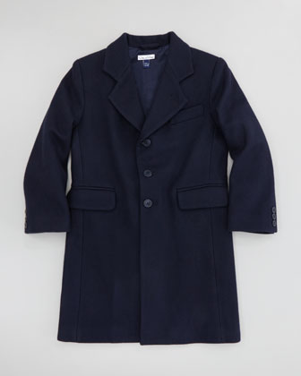 Boys' Wool-Blend Duffle Coat