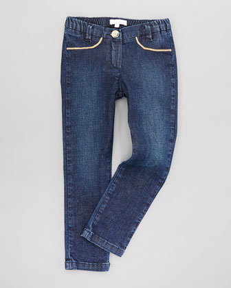 Stretch Denim Jeans, Sizes 2-5