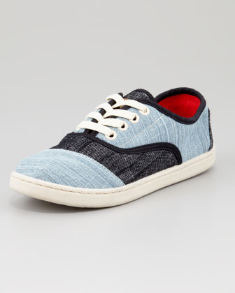 Youth Colorblock Denim Cardones Shoes