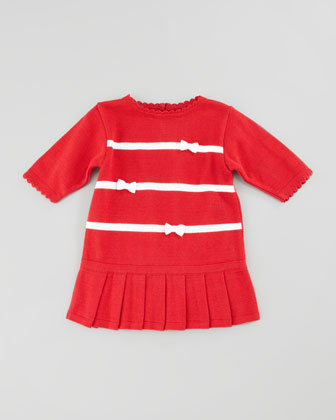 Holly Striped Drop-Waist Dress, 12-24 Months
