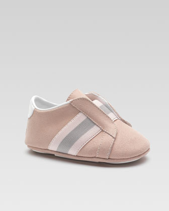 Baby Laceless Brooklyn Sneaker, Toffee
