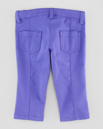 Twill Pants with Medusa Coin, 12-24 Months