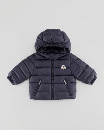 Jules Quilted Puffer Jacket, Navy