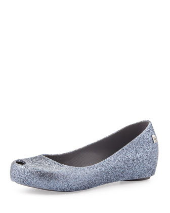 Ultragirl Glitter II Slip-On Shoe, Pewter, Youth