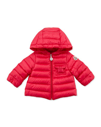 Milou Long Season Packable Jacket, Fuchsia