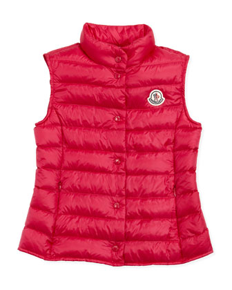 Liane Long Season Packable Vest, Fuchsia, Sizes 8-10