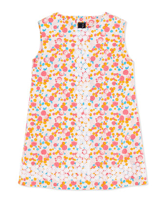Cascais Floral-Print Shift Dress