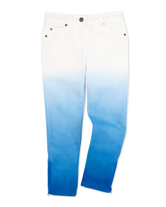 Nina Ombre Jeans, Blue, Girls' 2T-10