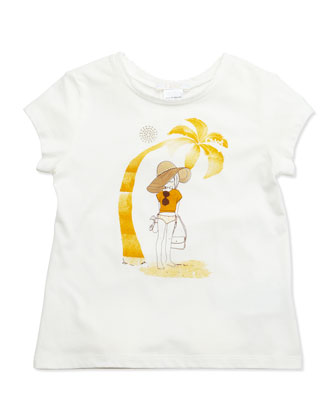 Chloe Girl Jersey Tee, Sizes 6-10