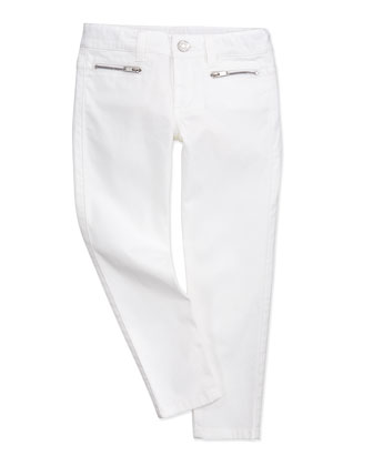 Skinny White Jeans, Girls' 4Y-10Y