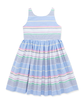 Little Run On Oxford Dress, Girls' 4-6X