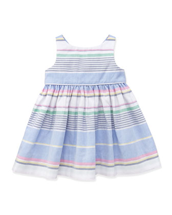 Little Run On Oxford Dress, 3-12 Months