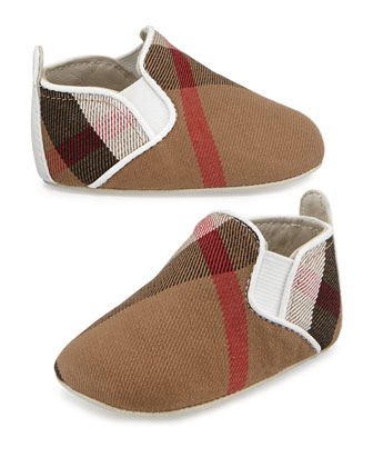 Check Slip-On Sneaker, Newborn
