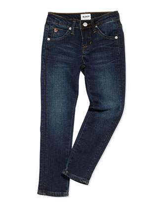 Collin Skinny Charged Blue Jeans, Girls' 4-6X