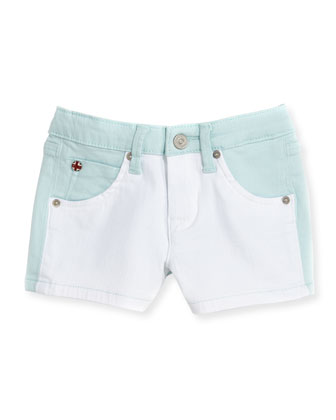 Vice Versa Denim Shorts, Blue, Girls' 8-10