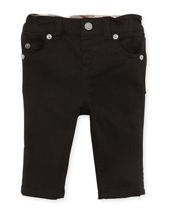 5-Pocket Jeans, Black, 3-18 Months