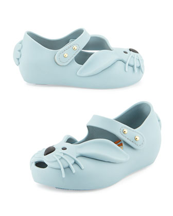 Ultragirl Rabbit Jelly Shoe, Gray