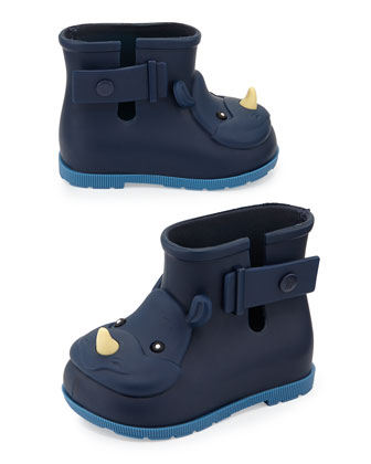 Sugar Rhino Rain Boots, Navy, Girls' Sizes 5-10