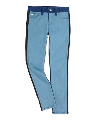 The Skinny Colorblock Girls' Jeans, 4-6X